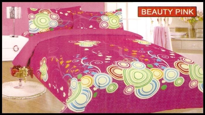 toko online Sprei Bonita Beauty Pink