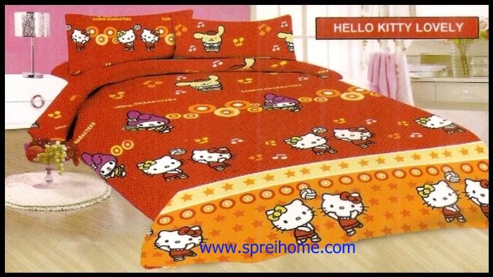 agen jual Sprei Bonita Hello Kitty Lovely