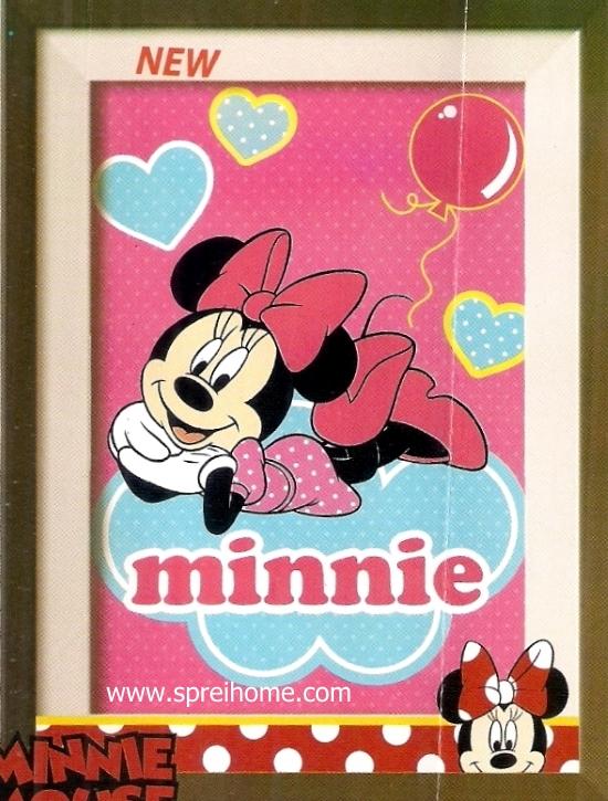 grosir murah Selimut Internal Minnie Mouse