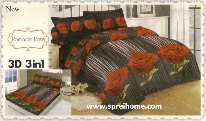 jual beli online Sprei Lady Rose 3D Romantic Rose