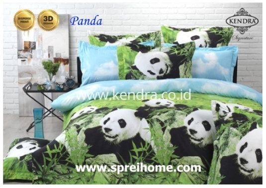 jual grosir online sprei kendra signature panda