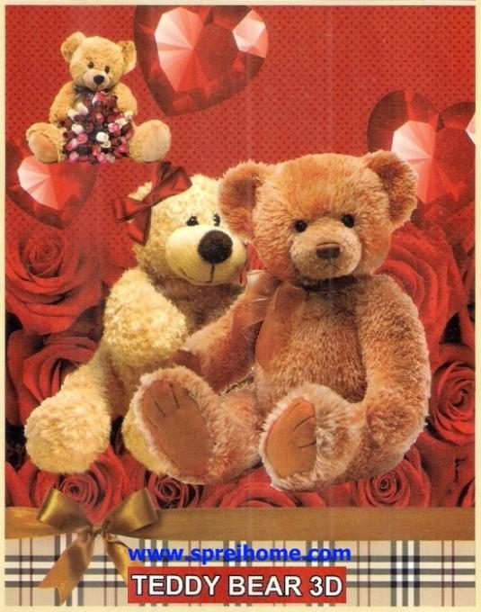jual murah Selimut Bonita Teddy Bear