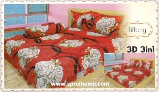 jual beli online Sprei Lady Rose 3D Tiffany