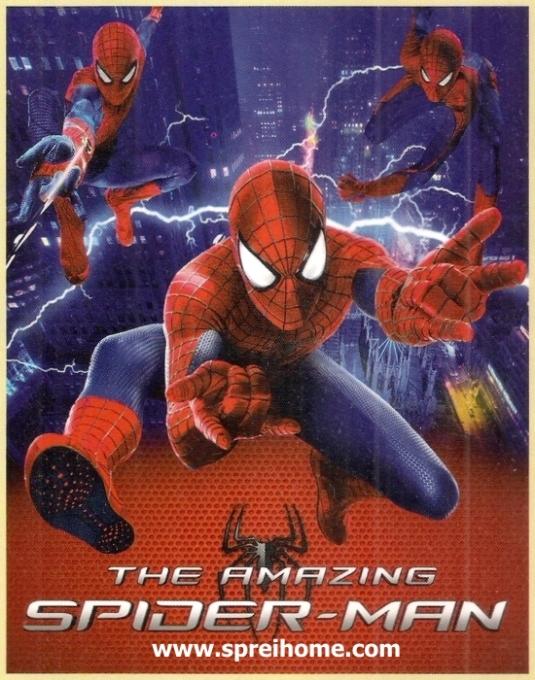 jual murah Selimut Bonita Spiderman