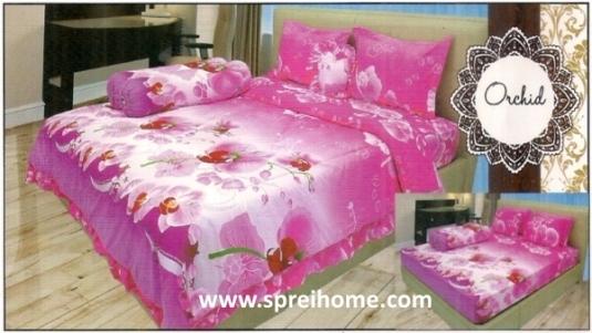 jual beli grosir Sprei Lady Rose Orchid