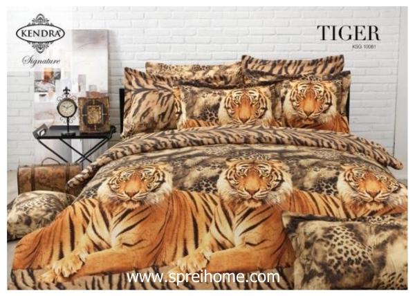 jual online sprei bedcover kendra signature Tiger