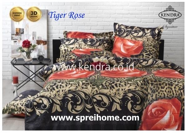 jual online sprei bedcover kendra signature tiger rose