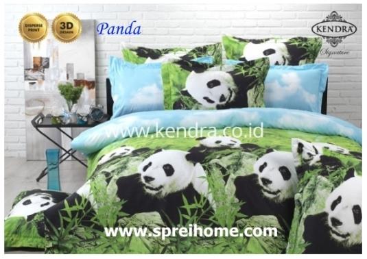 jual online sprei bedcover kendra signature panda