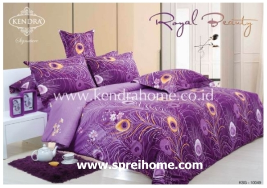 jual online sprei bedcover kendra signature royal beauty