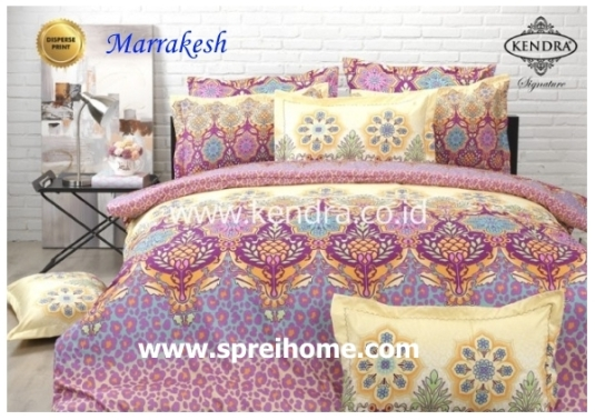 jual online sprei bedcover kendra signature Marrakesh