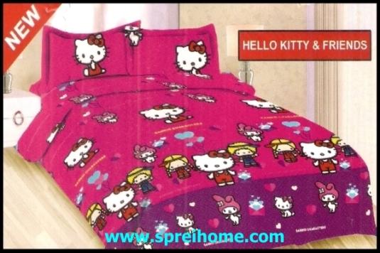 jual online Sprei Bonita Hello Kitty Friends