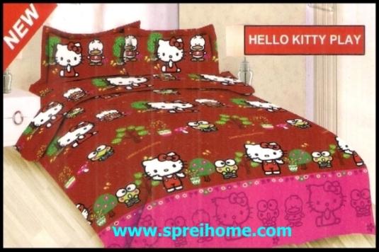 jual online Sprei Bonita Hello Kitty Play