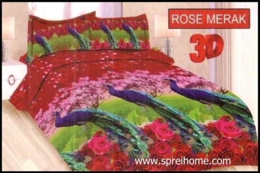 jual murah Bonita 3D Rose Merak