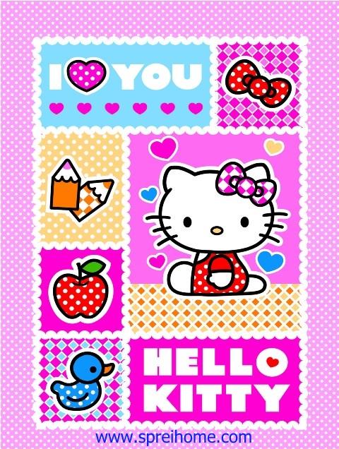jual grosir murah selimut bayi rosanna Hello-Kitty