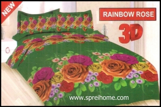 jual murah Sprei Bonita Rainbow Rose