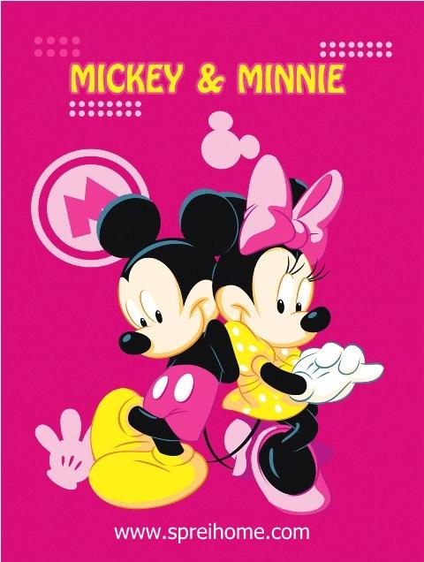 jual grosir murah selimut bayi rosanna Mickey-Minnie1