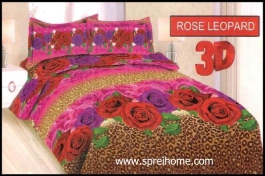 jual online Sprei Bonita Rose Leopard