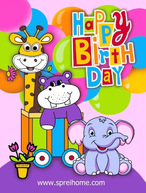 jual grosir murah selimut bayi rosanna Happy-Birthday