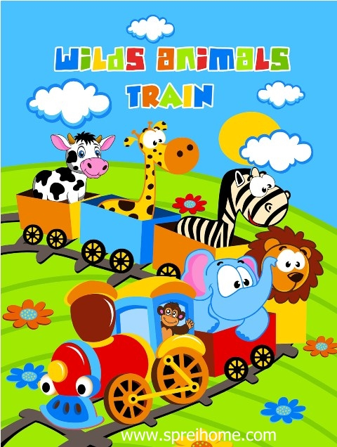 jual grosir murah selimut bayi rosanna Train