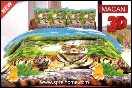 jual online Sprei Bonita 3D Macan