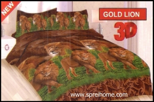 jual online Sprei Bonita Gold Lion