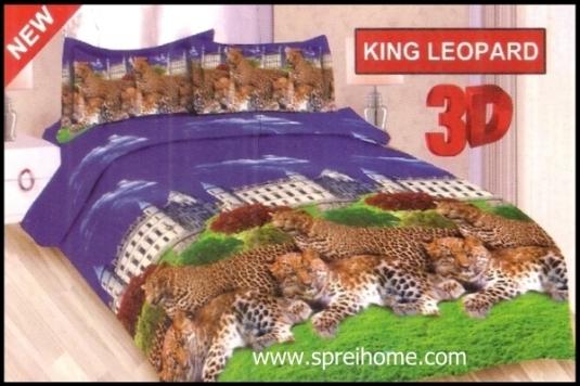 jual online Sprei Bonita King Leopard