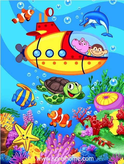 jual grosir murah selimut bayi rosanna Nemo