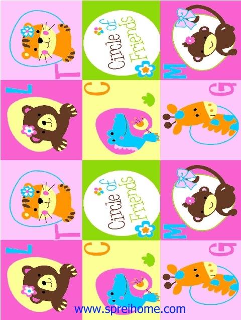 jual grosir murah selimut bayi rosanna Circle-Friend