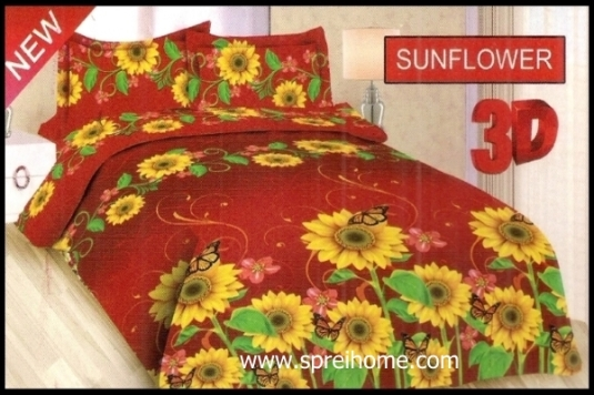 jual grosir Sprei Bonita Sunflower