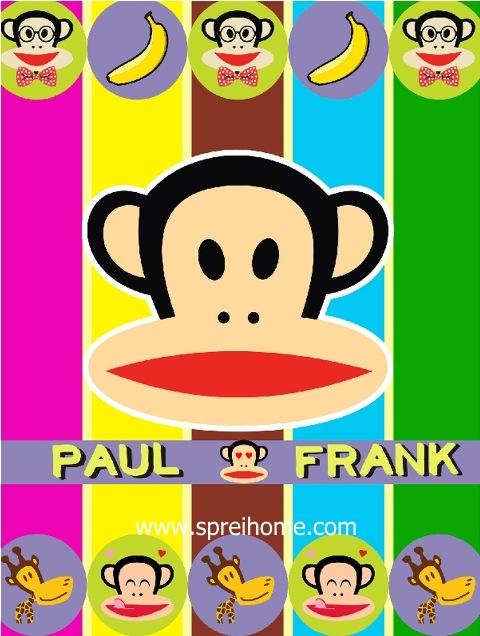 jual grosir murah selimut bayi rosanna Paul-Frank