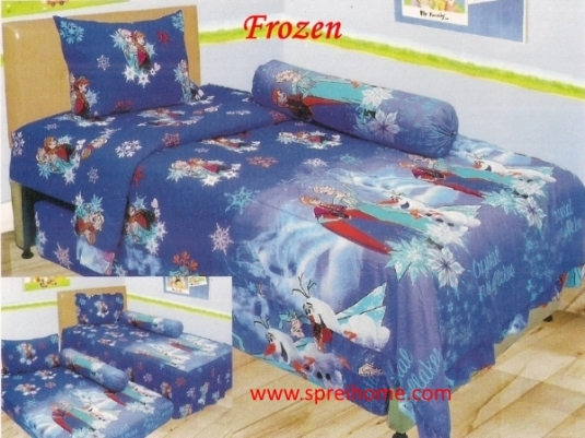 grosir murah Sprei Lady Rose Frozen