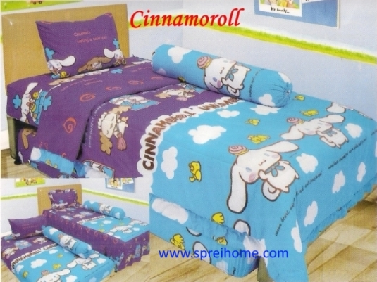 grosir murah  Sprei Lady Rose Cinnamoroll
