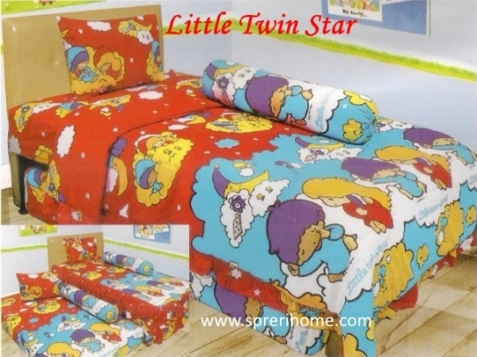 grosir murah Sprei Lady Rose Little Twin Star