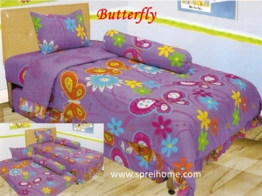 grosir murah Sprei Lady Rose Butterfly