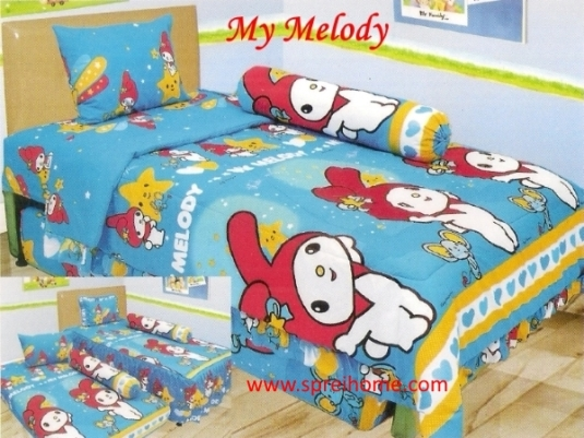 grosir murah Sprei Lady Rose My Melody
