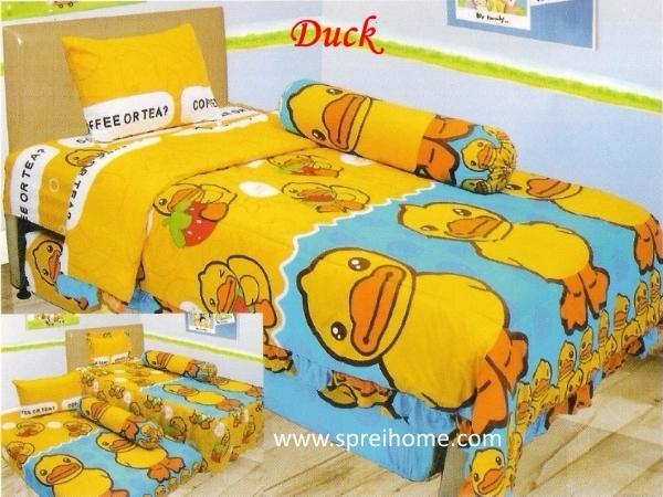grosir murah Sprei Lady Rose Duck