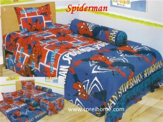 grosir murah Sprei Lady Rose Spiderman