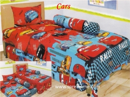 grosir murah Sprei Lady Rose Cars