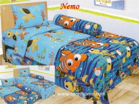 grosir murah Sprei Lady Rose Nemo