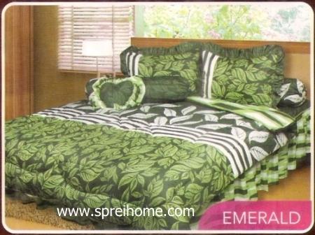 toko grosir murah Sprei California Emerald