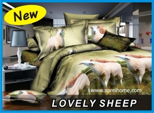 10 sprei fata lovely_sheep