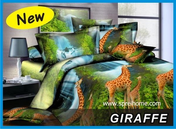 11 sprei fata giraffe