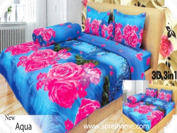 11-sprei-lady-rose-aqua