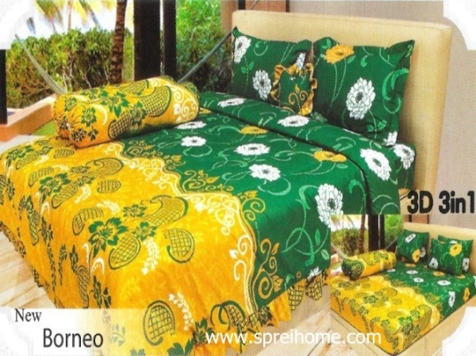13-sprei-lady-rose-borneo