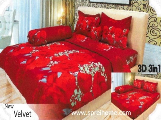 18-sprei-lady-rose-velvet