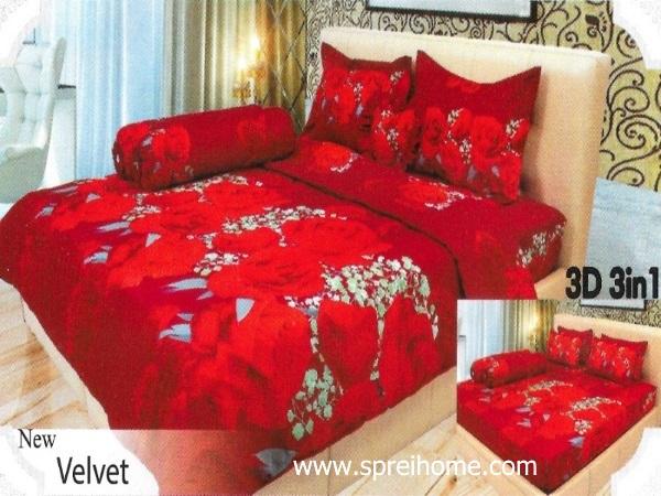 18-sprei-lady-rose-velvet