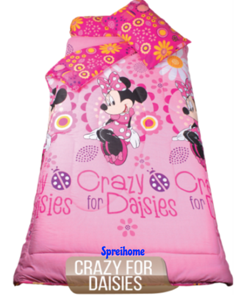 jual sprei my love anak motif karakter crazy for daisy