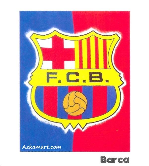 jual beli selimut bola internal bulu motif barcelona