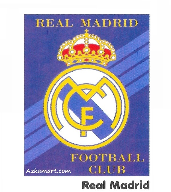 jual beli selimut bola internal bulu motif real madrid
