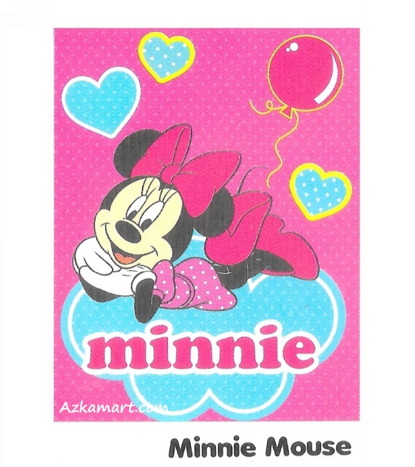 jual beli selimut internal karakter anak minnie mouse